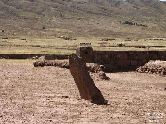 Вертикальный камень, напоминающий лингу