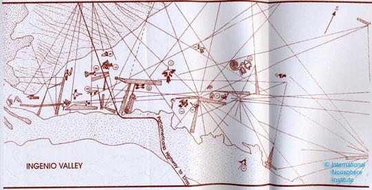 Карта пустыни Наска